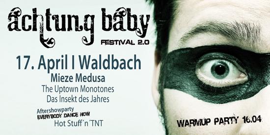 Achtung Baby Festival Waldbach