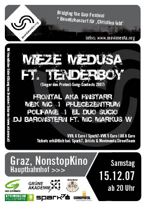 Mieze Medusa  and  Tenderboy in Graz